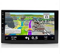 Автомагнитола FZ 701TA 2 Din с GPS на Android 8.1 Черный