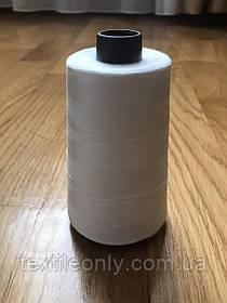 Нитки швейные Polyester sewing thread 40/2 цвет белый iso 9001