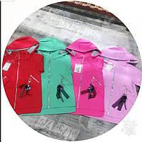 """Вітрівка дитяча яскрава з капюшоном на дівчинку 7-11 років (4 цв) """"MALIBU"""" купити недорого від прямого постачальника"""
