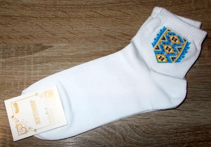 Носки женские Вышиванка размер 23-25 (наш 35-40)