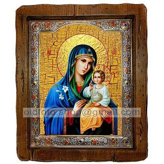 Иконы Божией Матери (посеребренный оклад)
