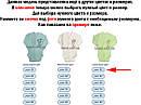 Дитячий боді ріст 68 (3-6 міс.) інтерлок бірюзовий на хлопчика/дівчинку з довгим рукавом для новонароджених, фото 2
