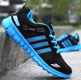 Кроссовки Sport черно-синие