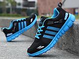 Кроссовки Sport черно-синие, фото 2