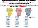 Детское боди на мальчика рост 68 3-6 мес для новорожденных трикотажное с длинным рукавом интерлок голубое, фото 3