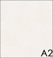 Бумага акварельная А2 (42*59,4см), 200г/м2, среднее зерно,