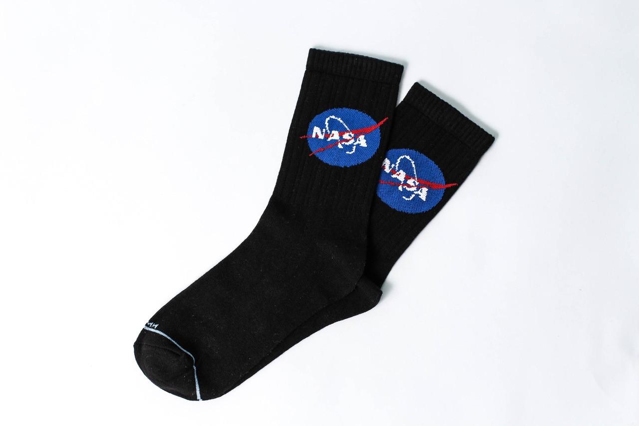 Женские носки LOMM Premium NASA чёрные