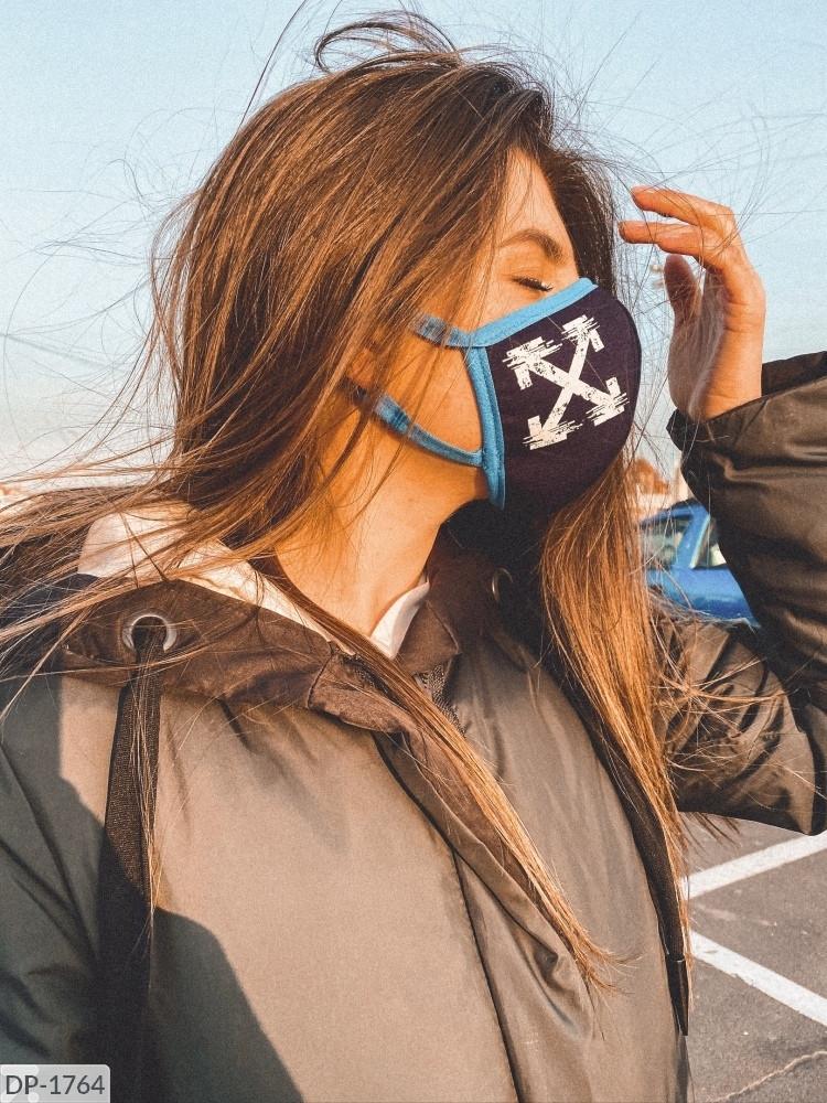 Аксессуар - маска гигиеническая многоразовая!!! Ткань: неопрен. Цена от 74 грн. (зависит от количества).