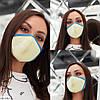 Аксессуар - маска гигиеническая многоразовая!!! Ткань: неопрен. Цена от 74 грн. (зависит от количества)., фото 3