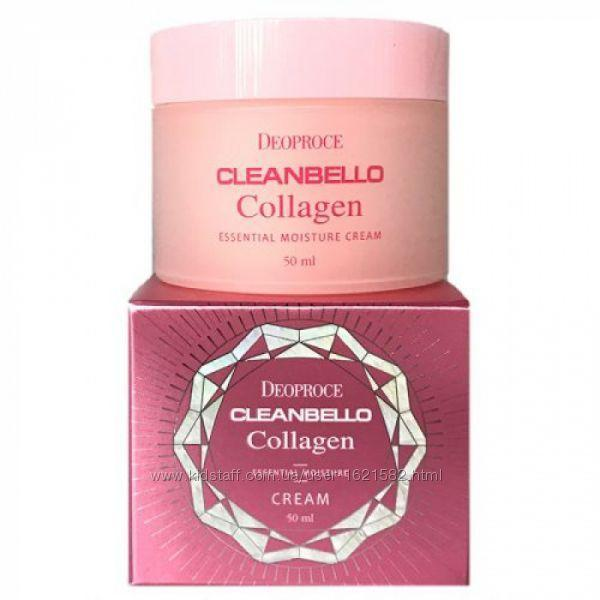 Увлажняющий коллагеновый крем от морщин Deoproce Cleanbello Collagen 100мл