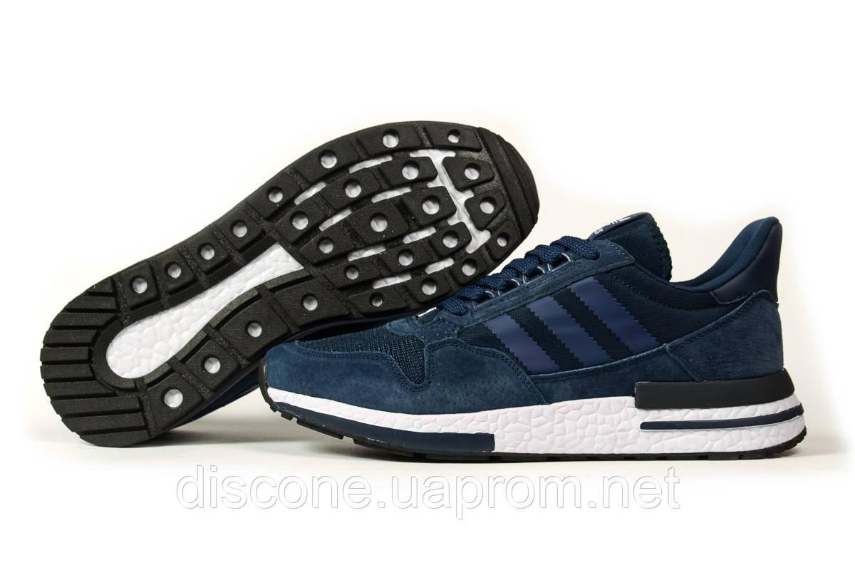 Кроссовки мужские 16843 ► Adidas, темно-синие ✅Скидка 26% [ 46 ] ► (46-29,4см)