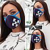 Аксессуар - маска гигиеническая многоразовая!!! Ткань: неопрен. Цена от 74 грн. (зависит от количества)., фото 6