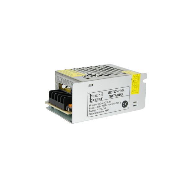 Блок питания Full Energy BGM-123Lite 12В 3А (36W)