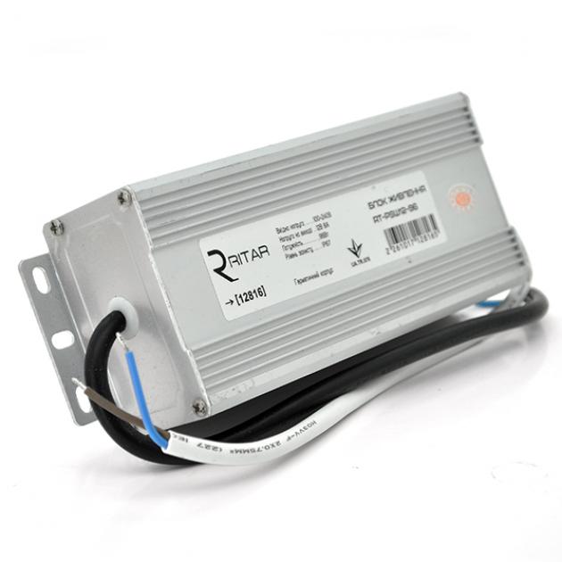 Импульсный блок питания герметичный Ritar RTPSW12-96 12В 8А (96Вт) IP67