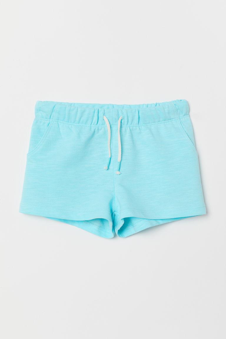 Шорты для девочки голубые H&M (Швеция)  р.122см