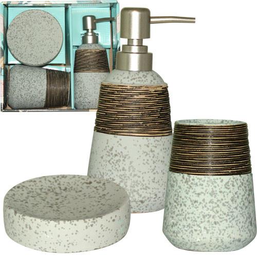 Набор аксессуаров для ванной комнаты S&T 3пр Aqua 887-06-01