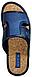 Тапки мужские Белста синие стелька пробка, фото 3
