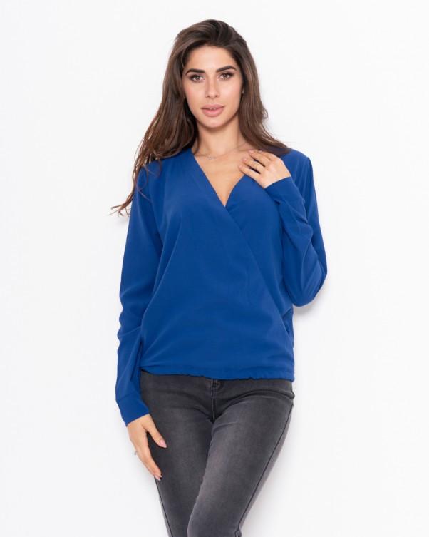 Блузы  11122  S синий