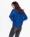 Блузы  11122  S синий, фото 3