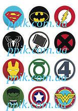 Вафельная картинка Мстители 3