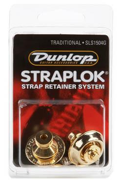Стреплоки для ремней DUNLOP SLS1504G TRADITIONAL DESIGN GOLD