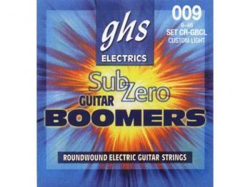 Струны для электрогитары GHS STRINGS SUB-ZERO BOOMERS SET