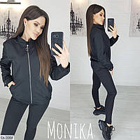 "Бомбер женский мод. 8049 (42-44, 46-48) ""MONIKA"" недорого от прямого поставщика"
