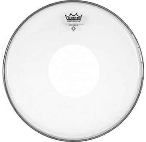 Пластик матовый REMO CS 13 SMOOTH WHITE BLACK DOT