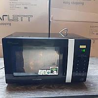 Микроволновая печь Daewoo Digital ECO  800 Вт, 20 литров - черный / серебристый