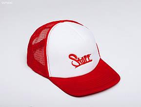 Кепка Тракер Staff white/red
