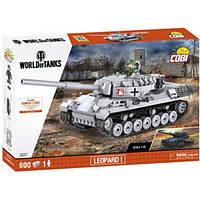 Конструктор COBI World Of Tanks Леопард 1, 600 деталей