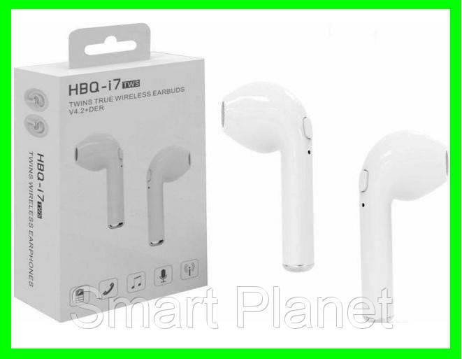 Беспроводные наушники i8 TWS Bluetooth аналог AirPod (ВидеоОбзор)