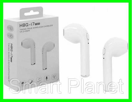Беспроводные наушники i8 TWS Bluetooth аналог AirPod (ВидеоОбзор), фото 2