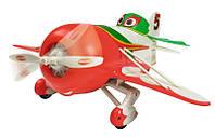Детская Игрушка Для Мальчиков Машинка Самолет Дасти Напольный, радиоуправление, звуков. эффекты красный Dickie