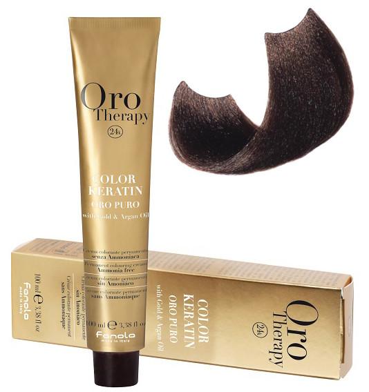 Безаммиачная крем-краска для волос Fanola Oro Therapy №6/00 Intense dark blonde 100 мл