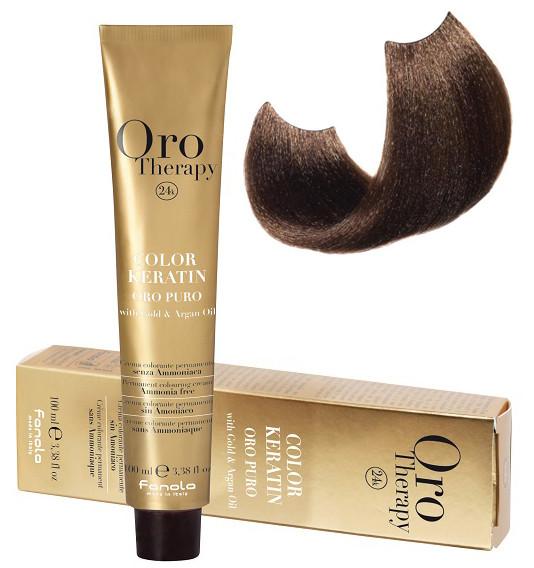 Безаммиачная крем-краска для волос Fanola Oro Therapy №7/00 Blond Intense 100 мл