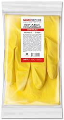 Рукавички латексні PRO Service OPTIMUM жовті L