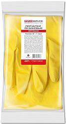 Рукавички латексні PRO Service OPTIMUM жовті S