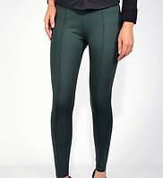 Леггинсы спортивные женские цвет Зеленый. Лосины спорт зелёные.