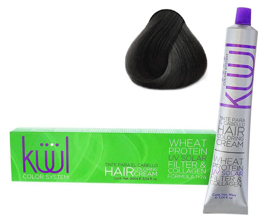 Крем-краска для волос Kuul Color System №1 90 мл