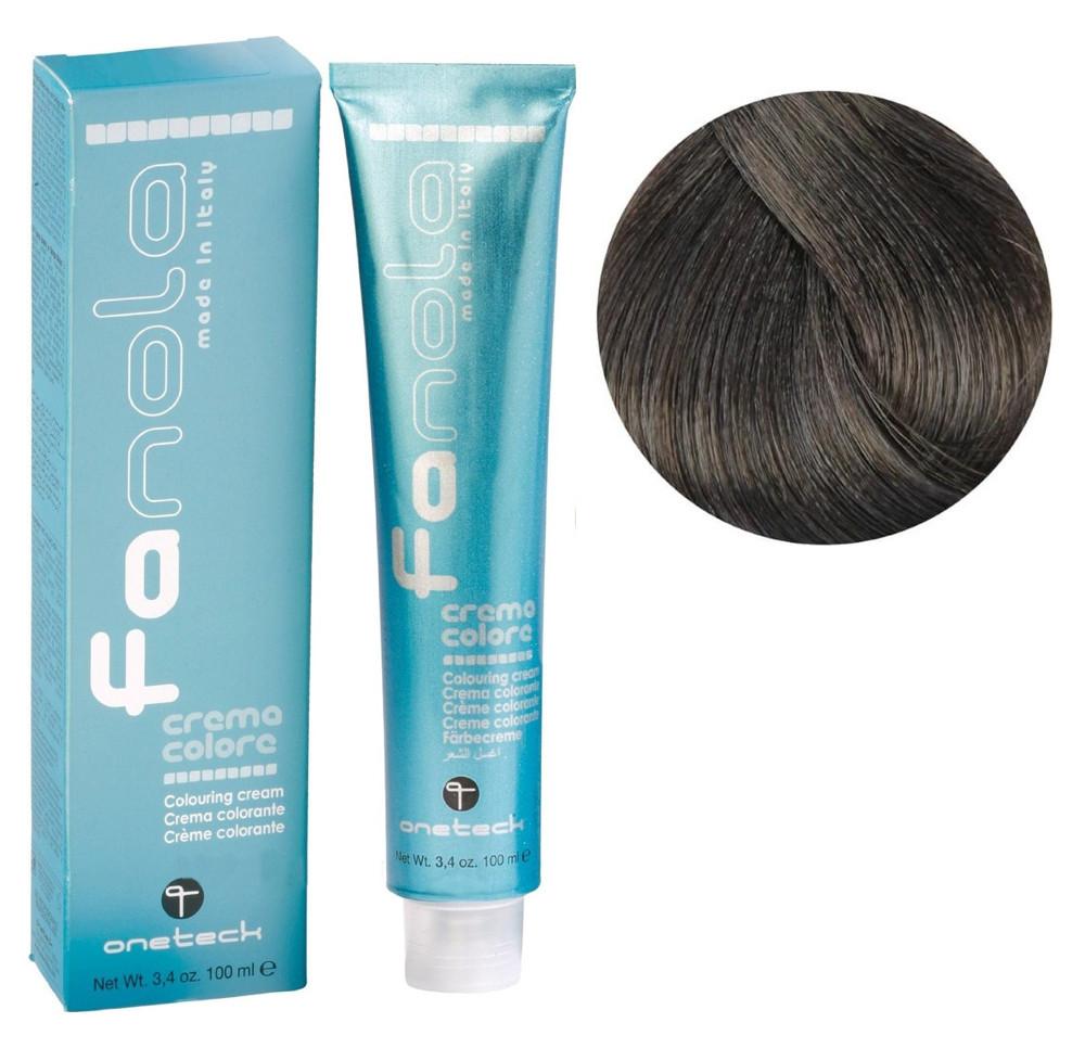 Крем-краска для волос Fanola №7/11 Blonde intense ash 100 мл
