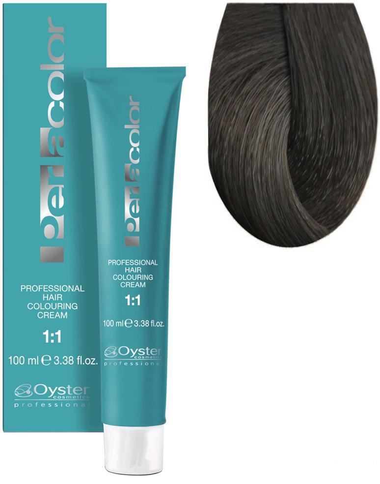 Стойкая крем-краска для волос Oyster Cosmetics Perlacolor №7/1 Пепельный блонд 100 мл