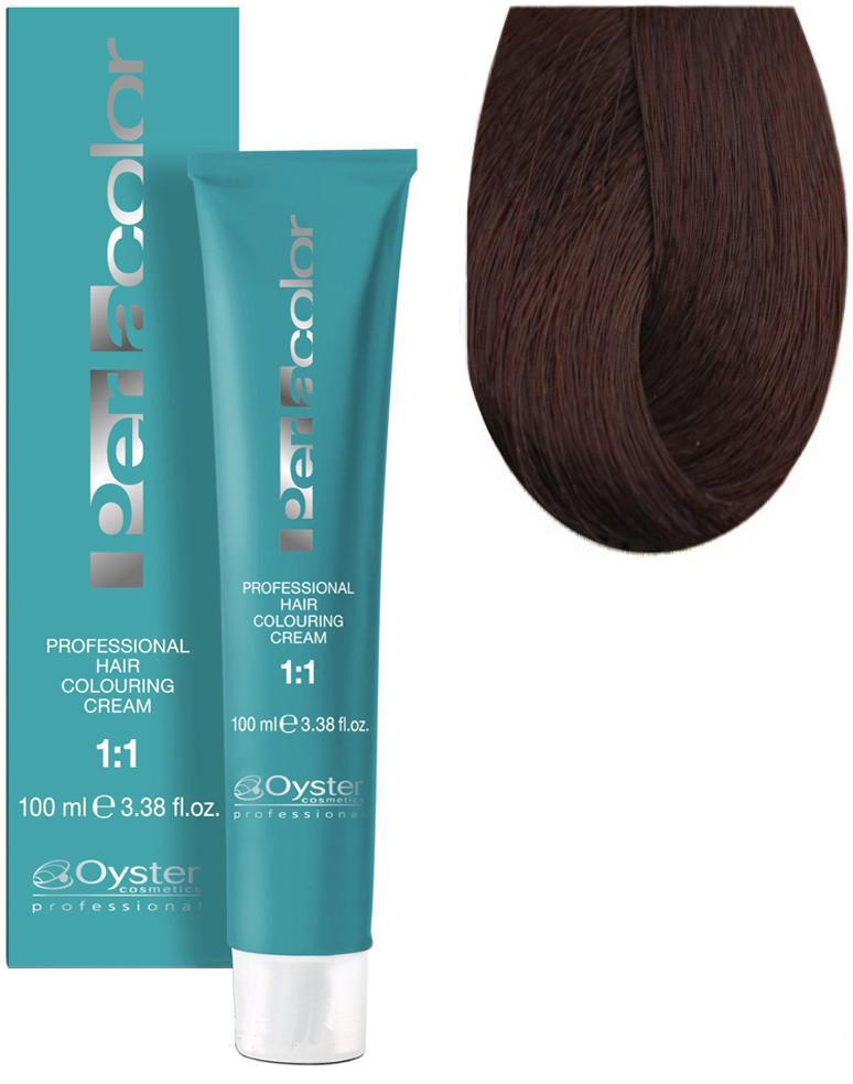 Стойкая крем-краска для волос Oyster Cosmetics Perlacolor №7/4 Медный блонд 100 мл