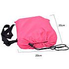 Диван мешок надувной матрас Ламзак Lamzac Air Cushion Розовый, фото 2