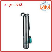 Насос для колодца Dongyin 1,1 кВт 92 м 3,3 м3/час Ø100 мм, поплавок, с нижним забором воды (777355)