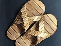Деревянные тапки для бани и сауны