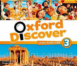 Oxford Discover 3 Class Audio CDs / Аудио диск