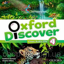 Oxford Discover 4 Class Audio CDs / Аудио диск