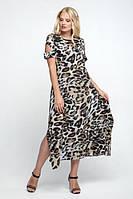 Легкое летнее платье больших размеров