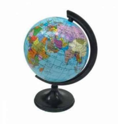 Глобус Марко Поло, 160мм політичний, фото 2